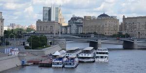 фото теплоходы киевский причал